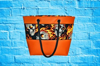 Skull Shopper orange